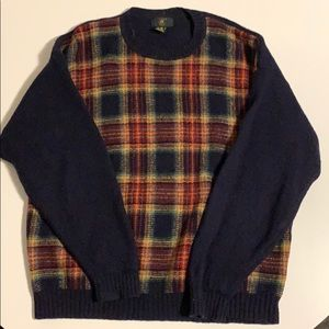 Colorful wool Club Room sweater